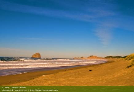 The Beach at Pacific City, Oregon
